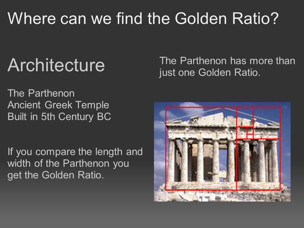golden ratio architecture decoration interior and exterior house