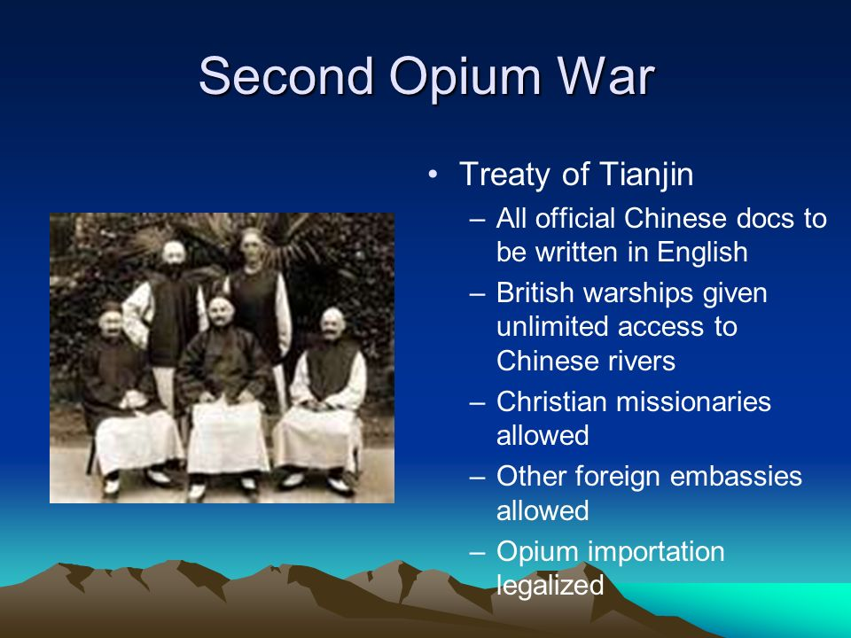 After Second Opium War