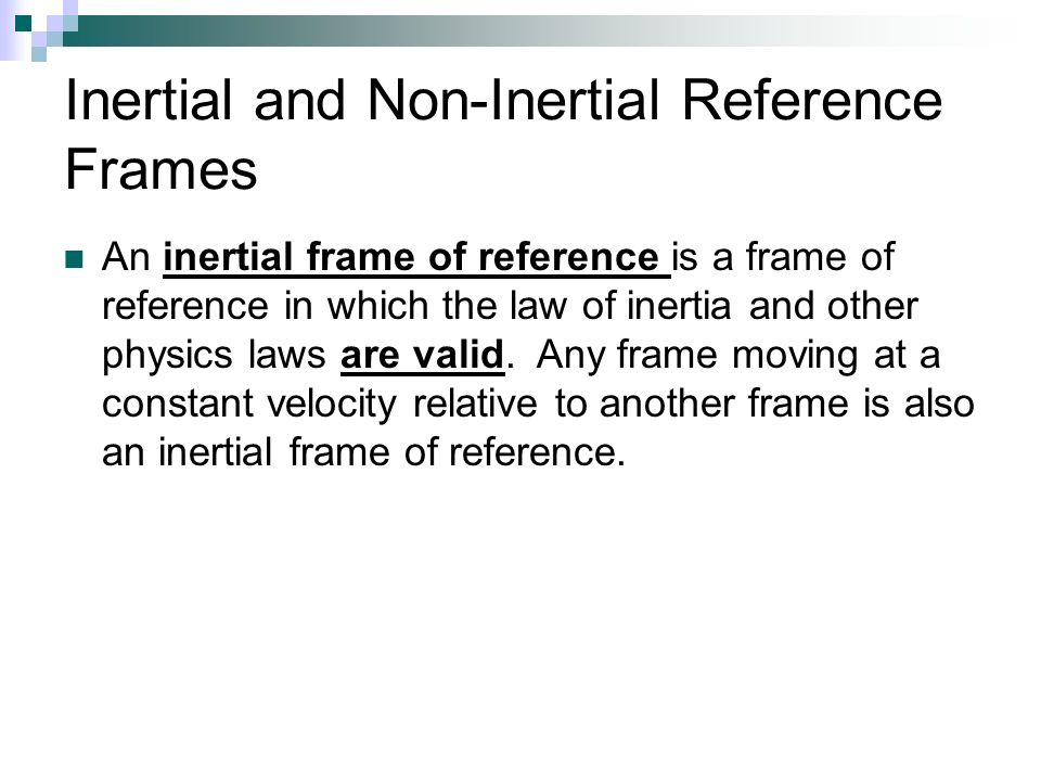 which object provides an inertial frame of reference | lajulak.org