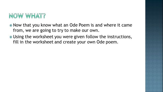 Starter What is poetry? Have you ever written a poem before? - ppt
