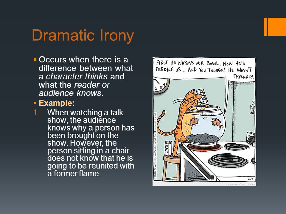 3 Examples Situational Irony
