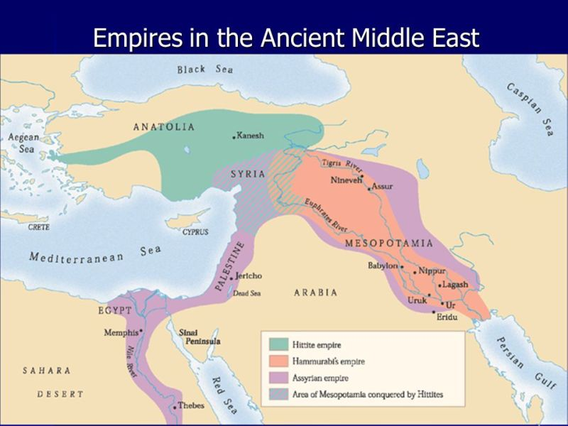 Middle East map    ppt video online download 10 Empires in the Ancient Middle East