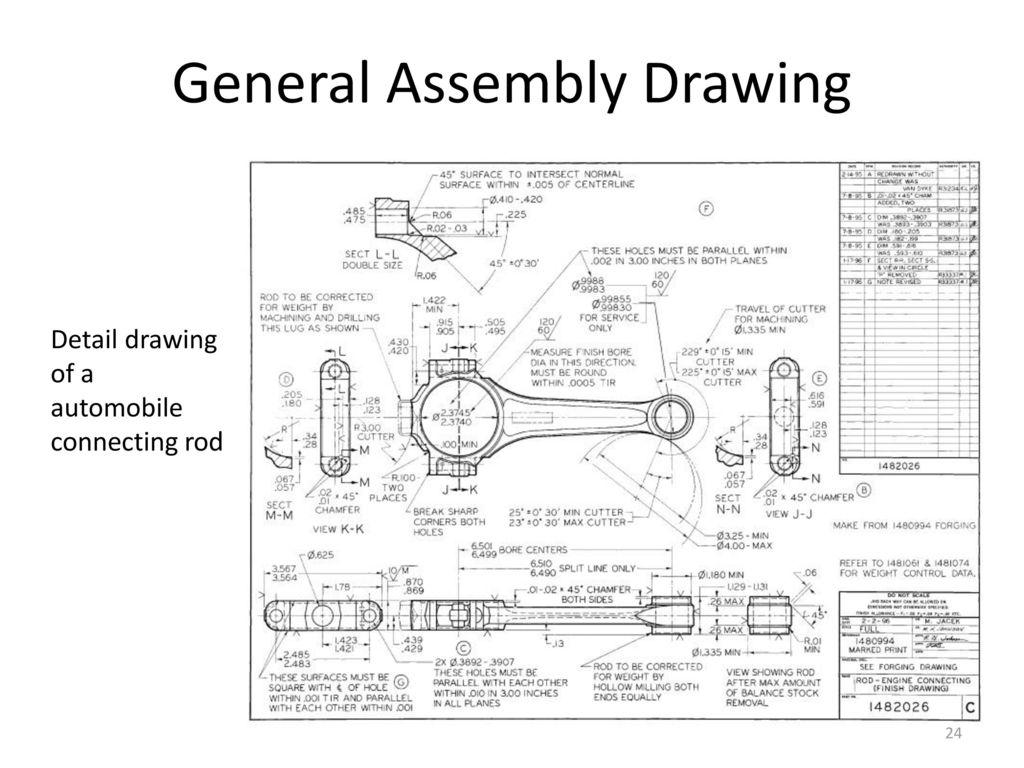 Mechanical Engineering Drawing Mech 211 M