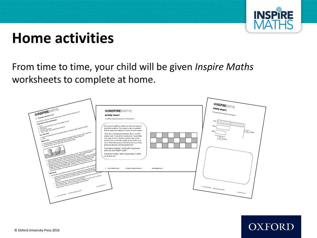 Inspire Maths Parents Evening