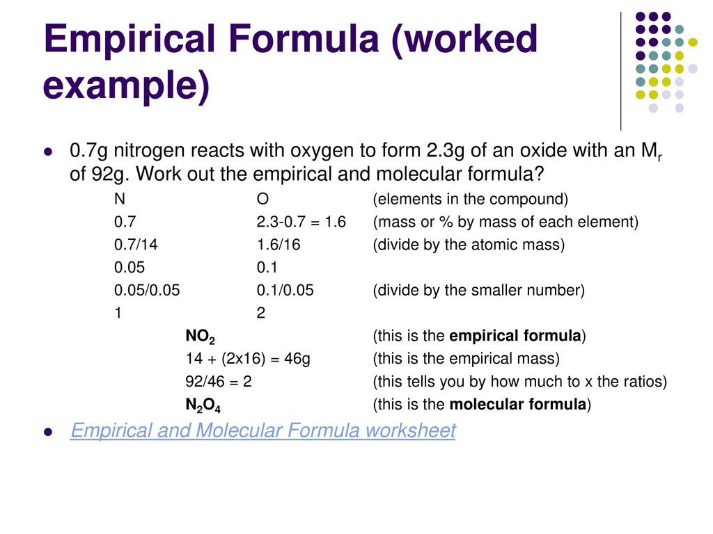 Quantitative Ampytical