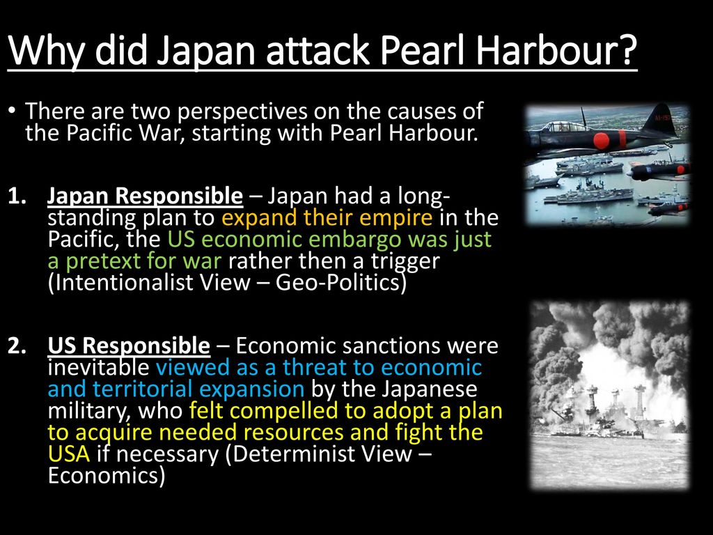 Why Did Japan Decide To Pearl Harbour