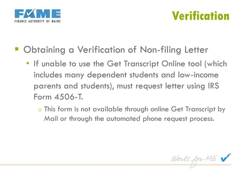 How Can I Get A Non Filing Letter From The Irs Online Letternew