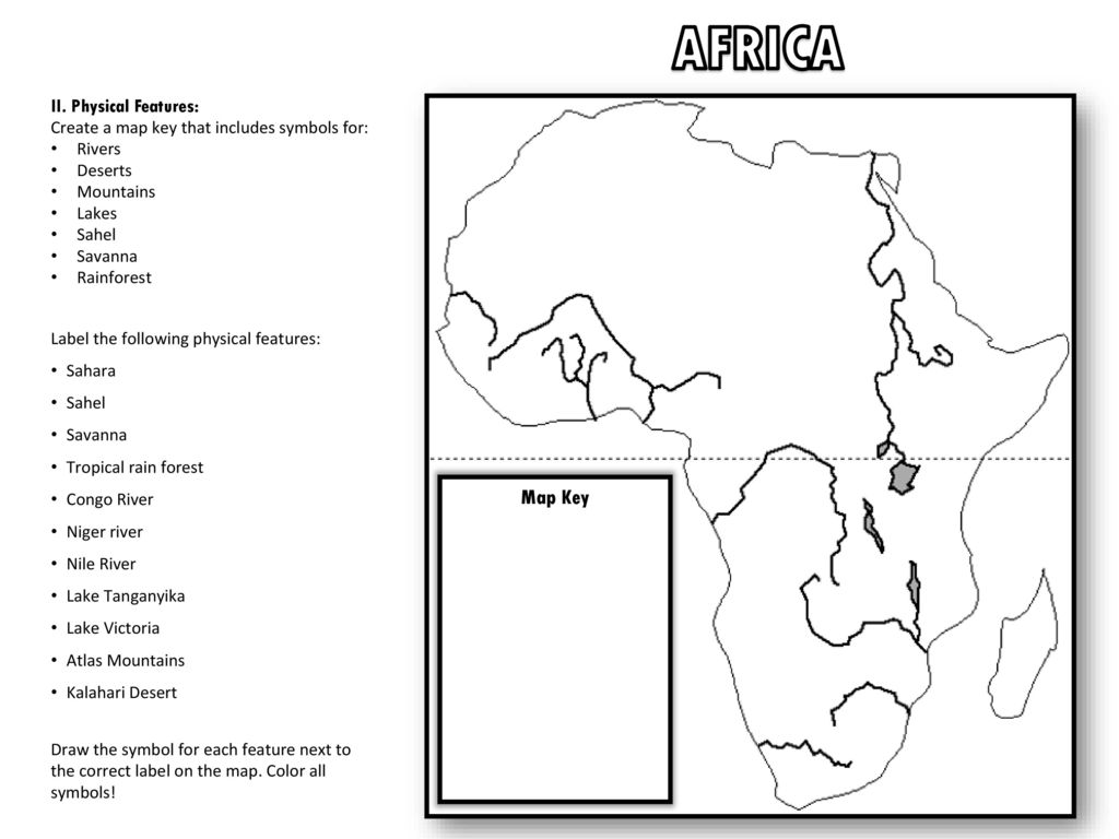 Geography Geography Africa