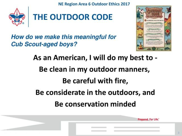 THE+OUTDOOR+CODE+How+do+we+make+this+meaningful+for+Cub+Scout aged+boys
