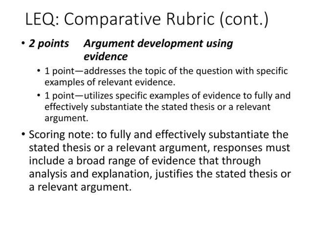 LEQ: Compare and Contrast - ppt download