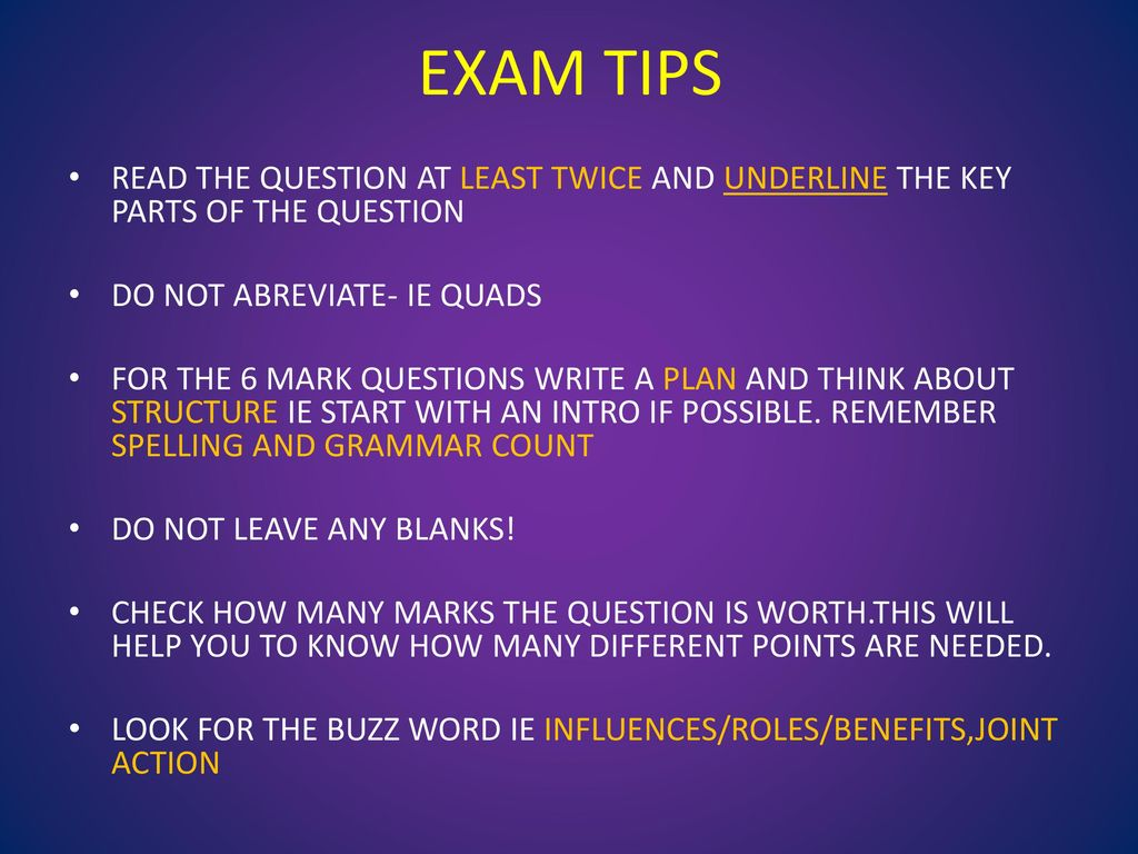 Gcse Pe Revision Year Ppt Download