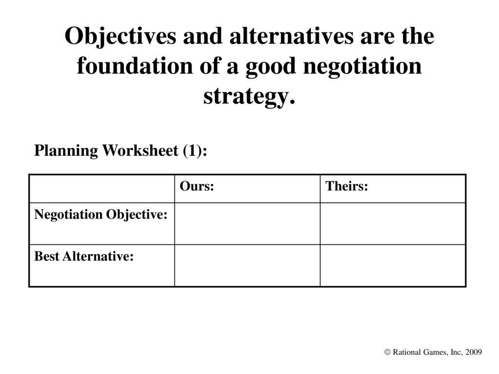 Worksheets Negotiation Worksheet Cheatslist Free Worksheets For Kids Amp Printable