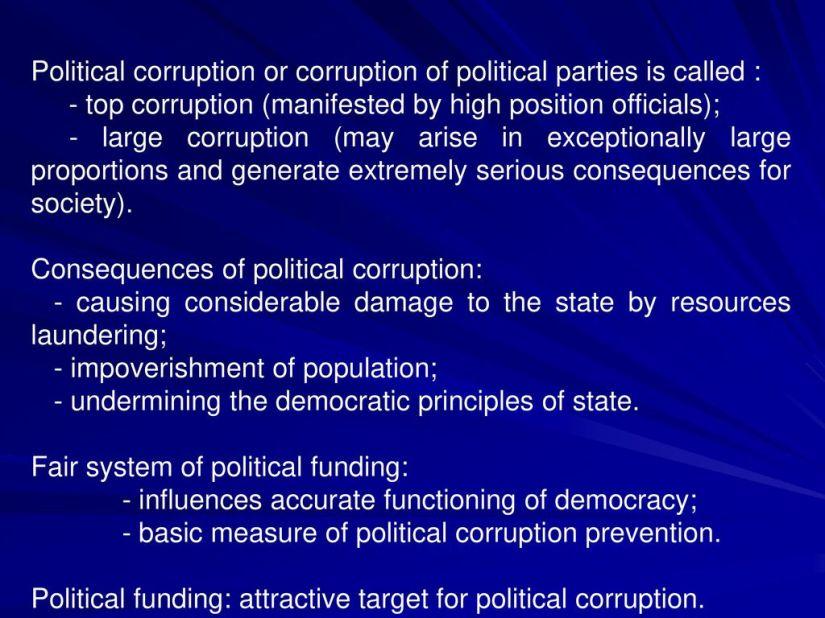 Image result for political funding corruption