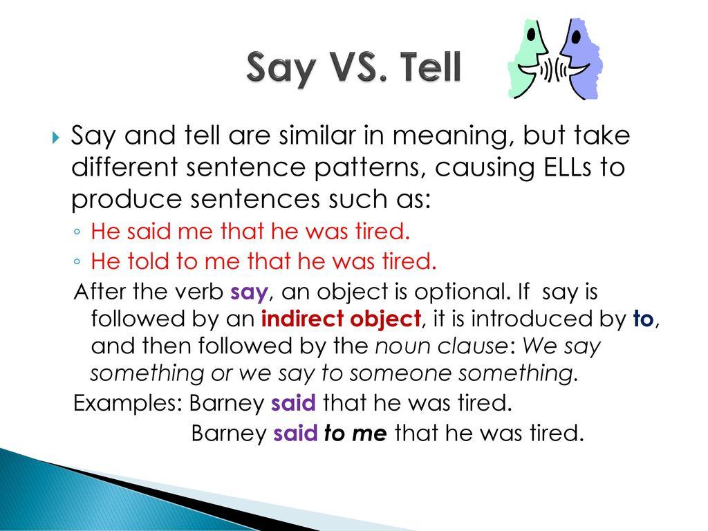 Chapter 11 Complex Sentences Noun Clauses