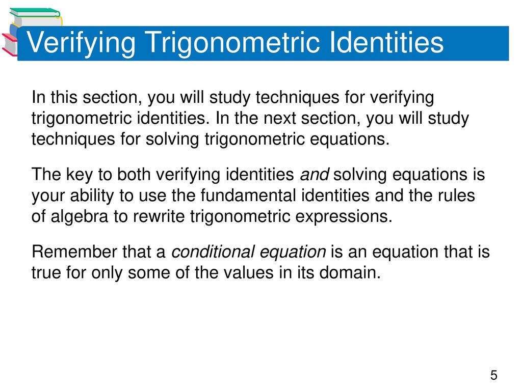 Verify Trig Identity Solver