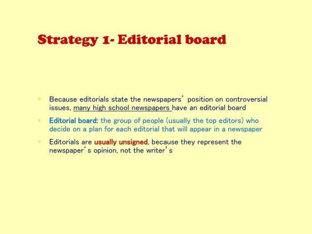 Editorials. - ppt download