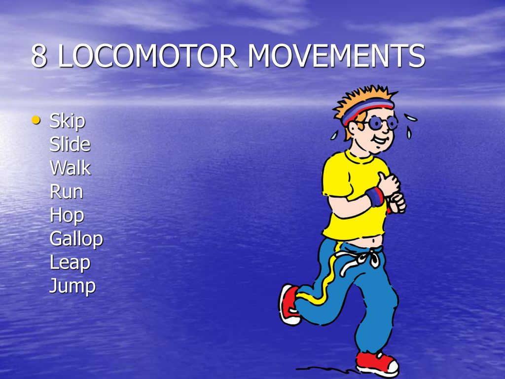 Locomotor Movement Example