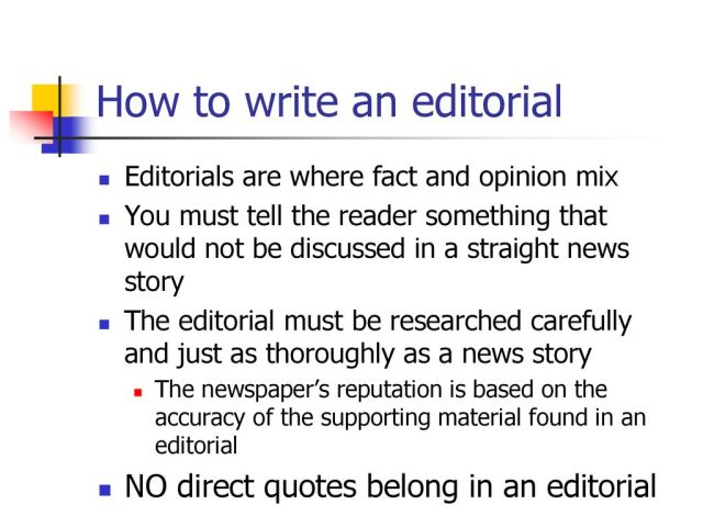 Editorial Writing. - ppt download