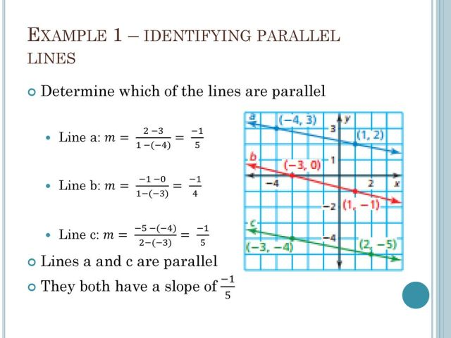 19.19 Writing equations of parallel and perpendicular lines - ppt