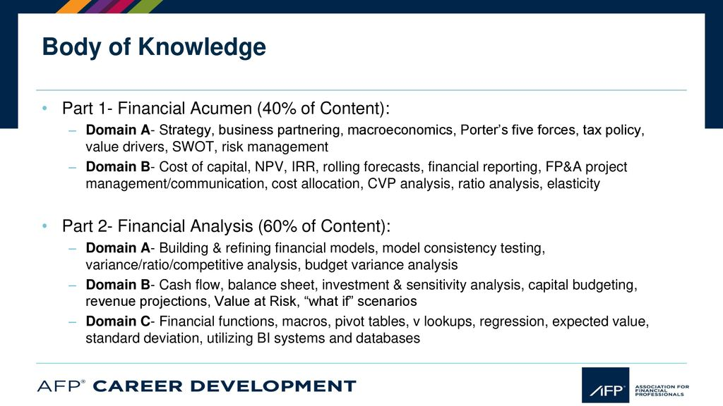 About The Association For Financial Professionals Ppt Download