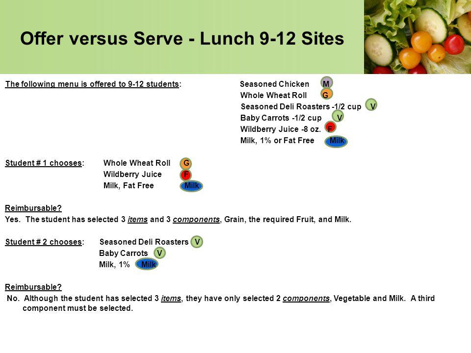 Lausd Lunch Menu 9 12