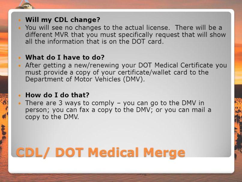 Renew Medical Card Cdl Letterjdi
