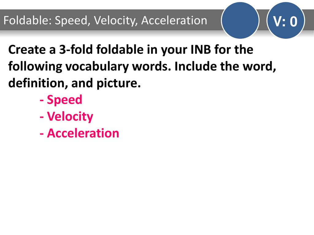 Speedvelocityacceleration Worksheet Answers