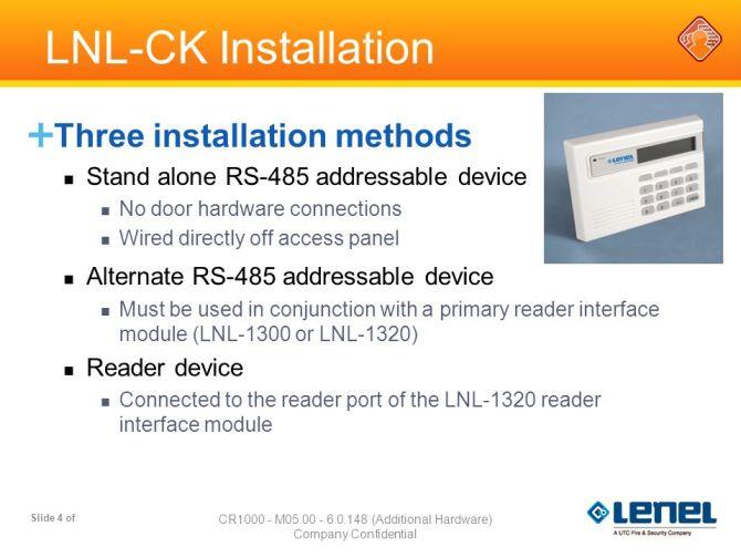 lenel command keypad lnlck  ppt download
