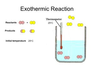 Exothermic and Endothermic Reactions  ppt video online