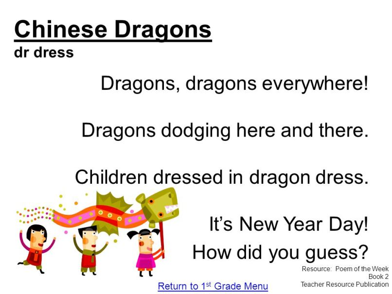 Short Chinese Dragon Poems   Poemdoc.or