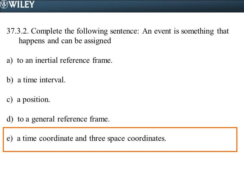 Which Of The Following Is An Inertial Reference Frame Mastering ...
