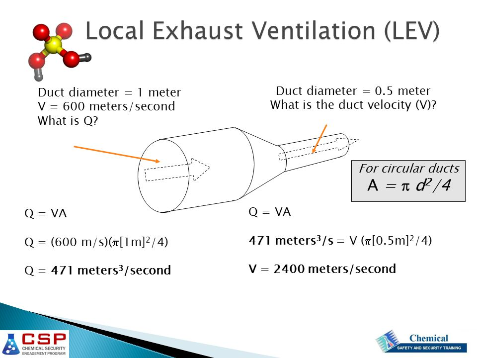 general and local exhaust ventilation