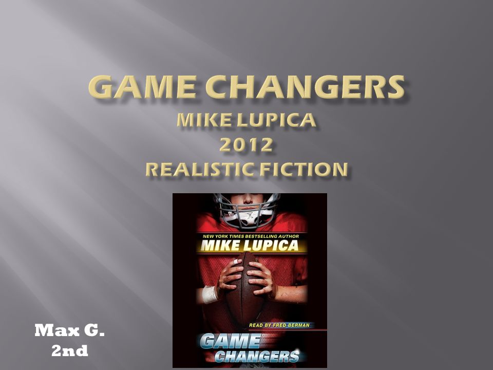 Book Mike Lupica Gamechanger