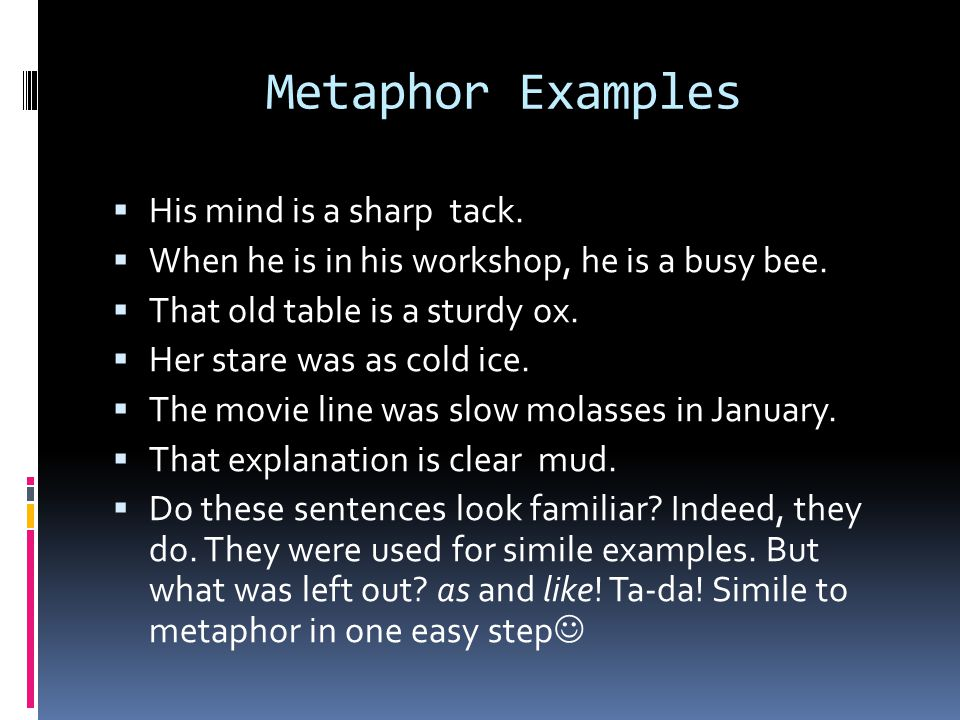 Figurative Language Idioms Analogies Similes And