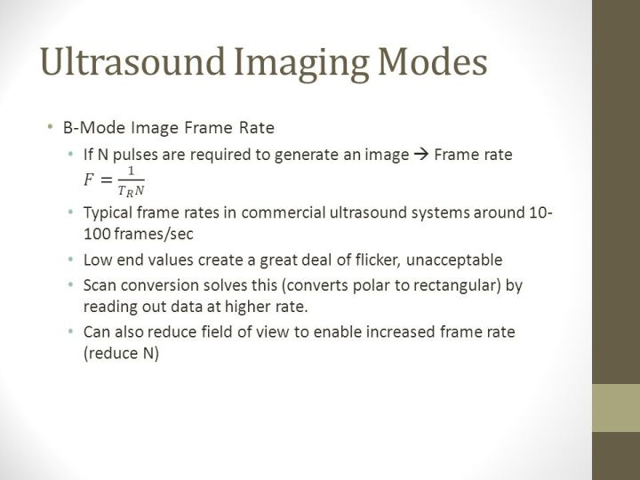 Definition Of Frame Rate In Ultrasound | Viewframes.org