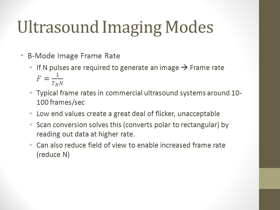Define Frame Rate In Ultrasound | Siteframes.co