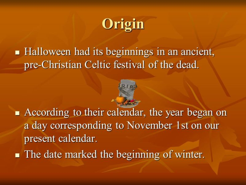 what is the meaning behind halloween newchristmas co