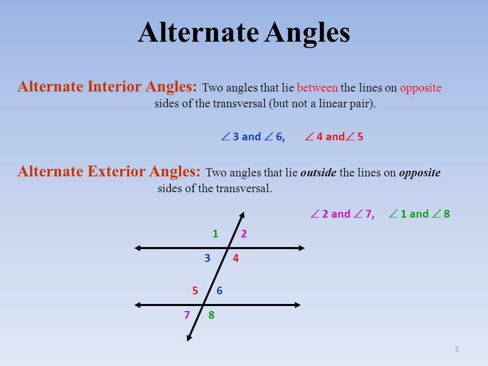 Angles And Parallel Lines Ppt Video Online Download