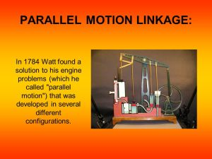 Introduction To : Types Of Motion Linkages  ppt video