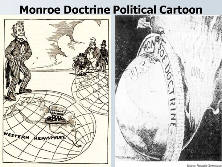 Monroe Doctrine Cartoon Analysis Worksheet Answers Zeenla