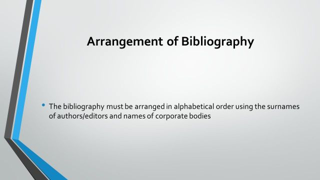 Writing a Bibliography - ppt video online download