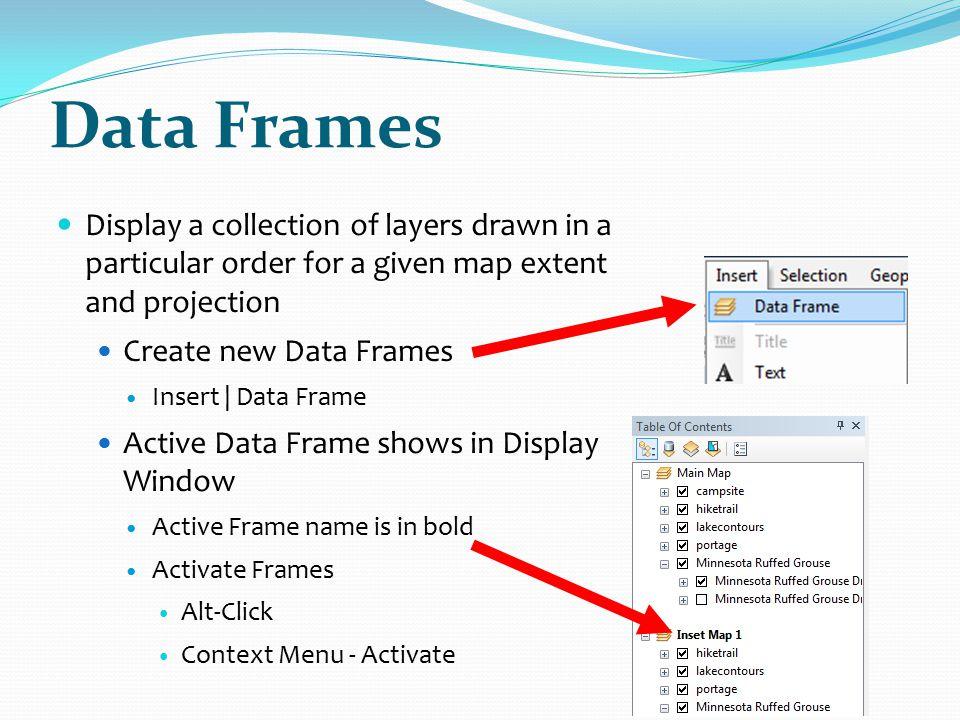 Arcgis Show Data Frame Extent | Frameviewjdi.org