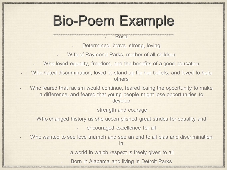 Bio Poem Miguel A Arce Ramos English 9th