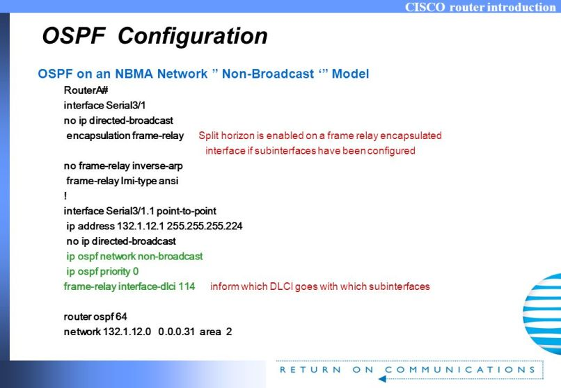 Ip Ospf Network Broadcast Frame Relay | Allframes5.org