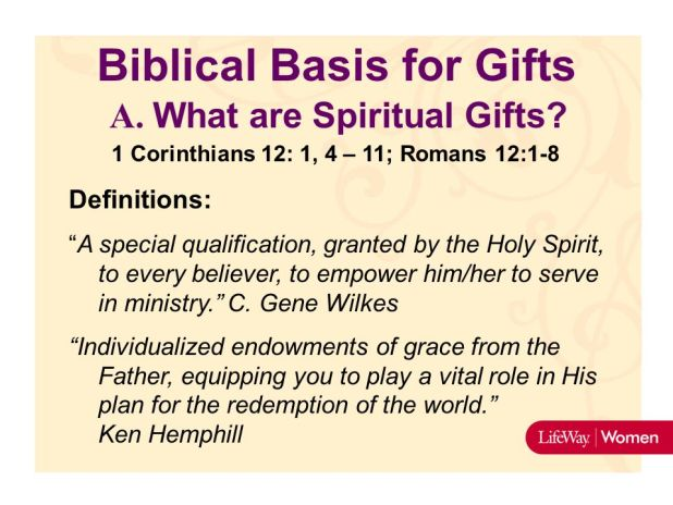 Leverage In Living And Leading Ppt Spiritual Gifts Test Lifeway