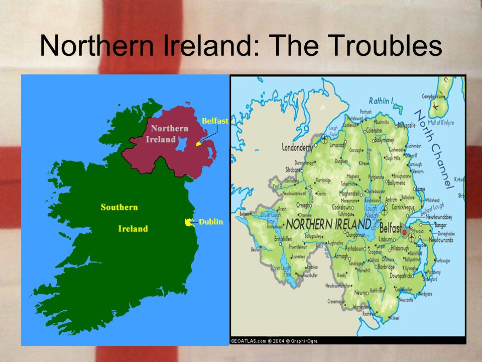 Image result for map of northern ireland during the troubles