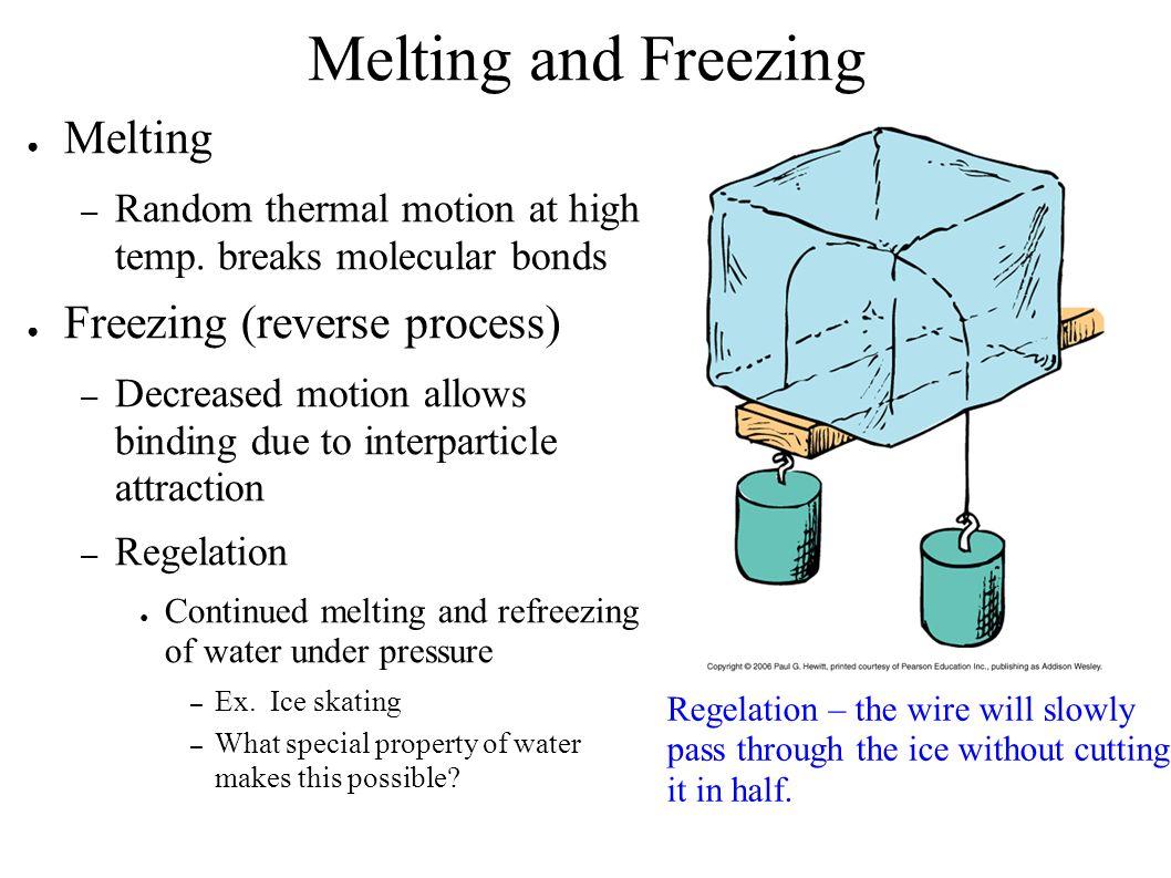 Melting And Freezing Worksheet