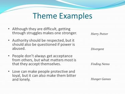 Character + Conflict = Theme - ppt download