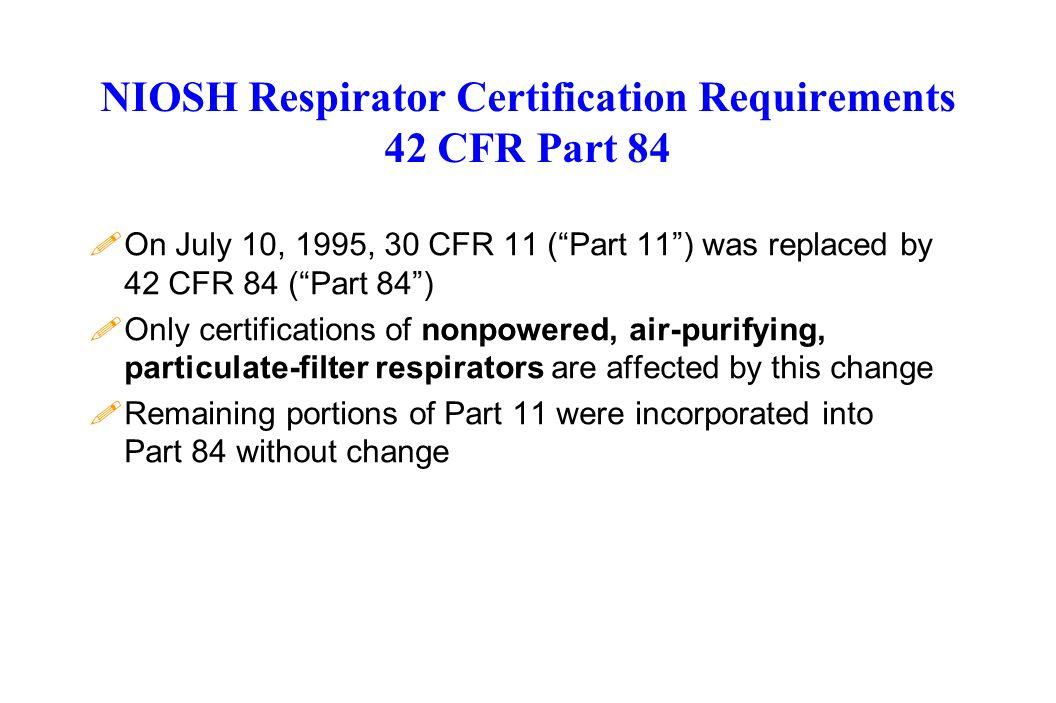 Osha S Respiratory Protection Standard 29 Cfr Ppt Download