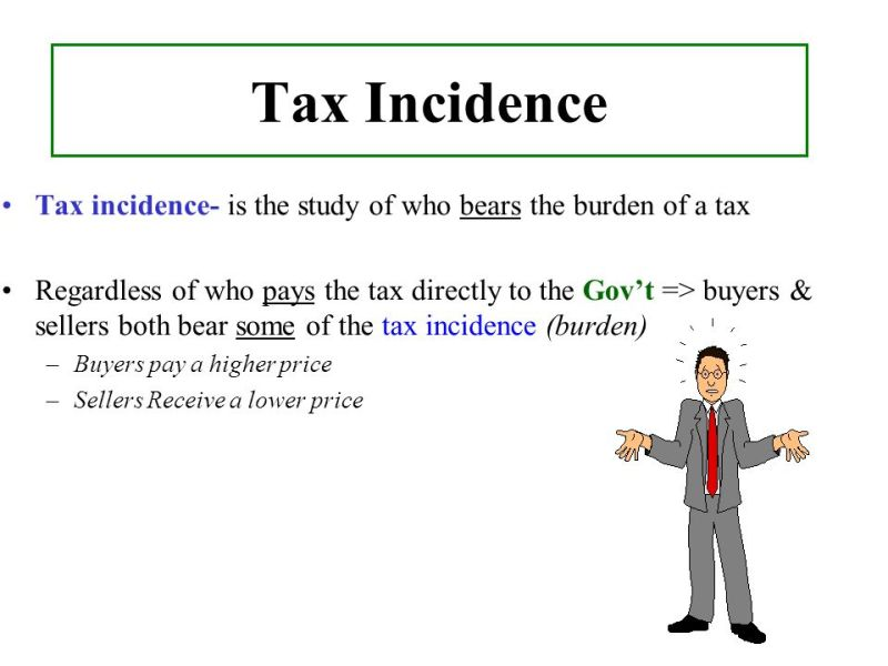 Image result for Incidence of Tax